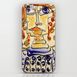 Of Lines and Swirls and Twirls and Curls iPhone Skin