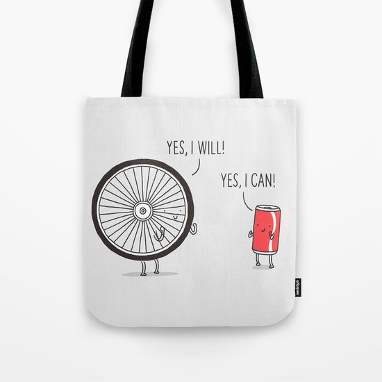 I will, I can Tote Bag