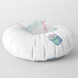 The One That Got Away Floor Pillow