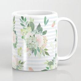 succulent, floral, leaf Coffee Mug