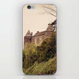 Brancion - French Medieval Chateau iPhone Skin
