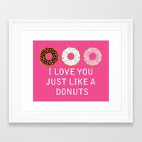 food Framed Art Prints featuring food by mark ashkenazi