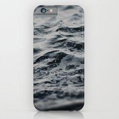 Ocean Magic Black and White Waves iPhone 6 Slim Case