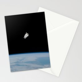 Space Walk Exploration Stationery Cards