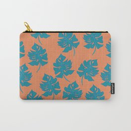 Monstera Leaf Pattern - Version One Carry-All Pouch