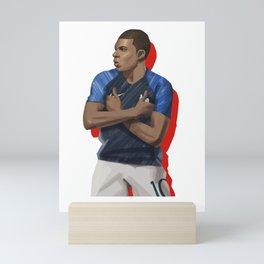 Mbappe 10 - France Mini Art Print