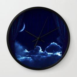 Star Thief Wall Clock