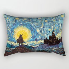 triforce warrior link starry night iPhone 4 5 6 7 8, pillow case, mugs and tshirt Rectangular Pillow