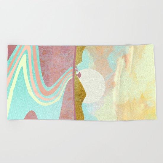 Desert Dusk Beach Towel