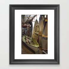 The Old Boat Shed Framed Art Print