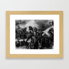 The Battle of Fort Pillow Framed Art Print