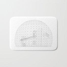Montreal Biosphere Bath Mat