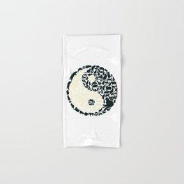 Yin-Yang Cats - FELT Hand & Bath Towel