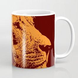 Lion, King of Nature Coffee Mug