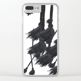 Witch craft Clear iPhone Case