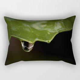 All The Raindrops Rectangular Pillow