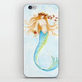 The Rose Mermaid iPhone Skin