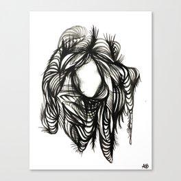 Good Hair Day Canvas Print