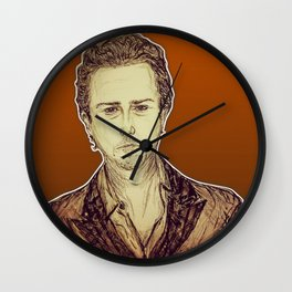 (Top/UnderDog - Edward Norton) - yks by ofs珊 Wall Clock