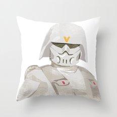 Ralph McQuarrie concept Snowtrooper  Throw Pillow