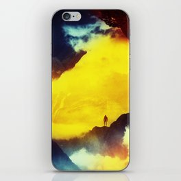 This volcano is mine iPhone Skin
