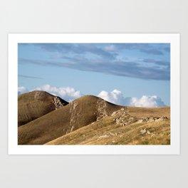 Southern Mountains Art Print
