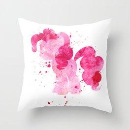 Pinke Pie Throw Pillow
