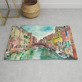Venezia Watercolor Rug