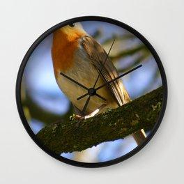 Little Robin Redbreast Wall Clock