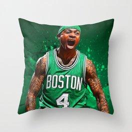 Isaiah Thomas Throw Pillow