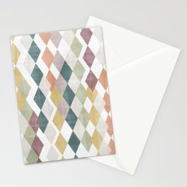 Rhombuses 2 Stationery Cards