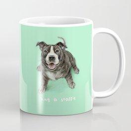 Hug a Staffie Coffee Mug