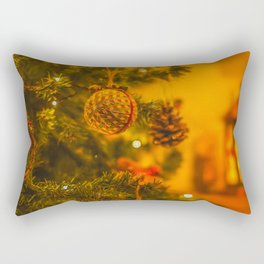 Christmas Baubles. Rectangular Pillow