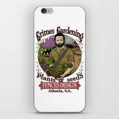 Grimes Gardening. iPhone & iPod Skin