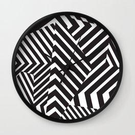Pattern - Camo - Dazzle Wall Clock