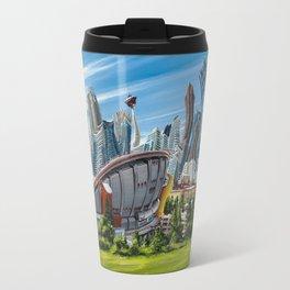 Downtown Calgary Skyline Travel Mug