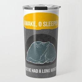Awake O Sleeper Travel Mug