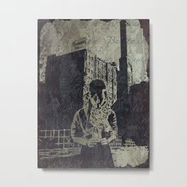 Slow Decay Metal Print