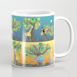 Giraffe & friends Coffee Mug