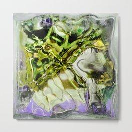 432 - abstract glass design Metal Print