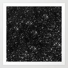 STARS STARS STARS Art Print