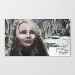 "VAMPLIFIED ""Frostbite"" Canvas Print"
