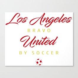 Los Angeles Bravo Canvas Print