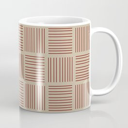Spirit Desert Stripe - Red Coffee Mug