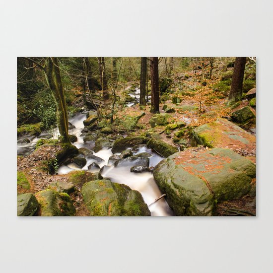 Wyming Brook Valley Canvas Print