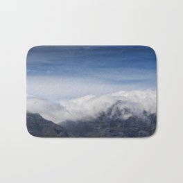 Clouds on Table Mountain Bath Mat