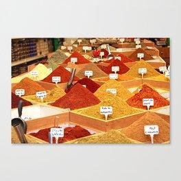 Spice Shop Canvas Print