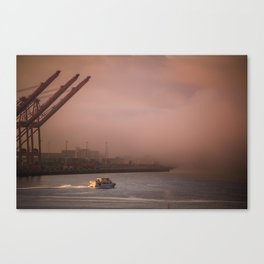 Seattle Morning Canvas Print