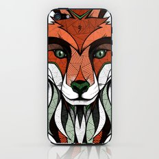 Fox // Colored iPhone & iPod Skin
