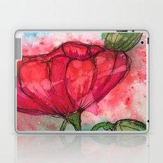 Single Poppy Laptop & iPad Skin